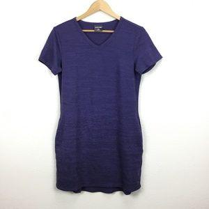 32 Degrees Cool Purple V Neck Dress Medium